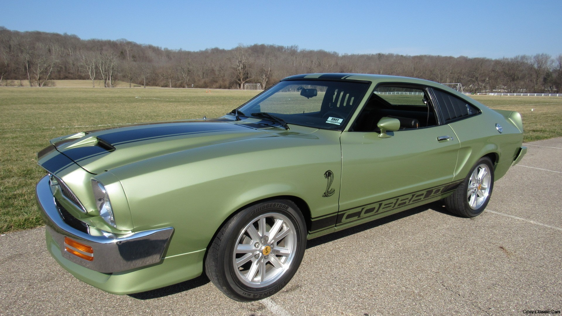 1977 mustang cobra ii sold cincy classic cars - Mustang cobra ...
