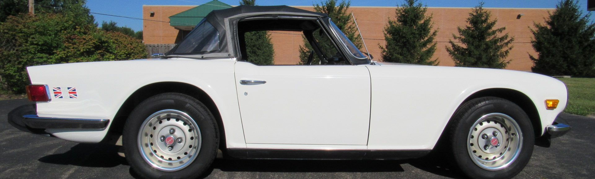 1974 Triumph TR6, 4 Speed, 74K Miles, SOLD!
