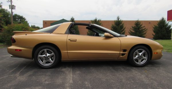 1998 Formula, 6 Speed, 1 of 4 made in GOLD, $13,900