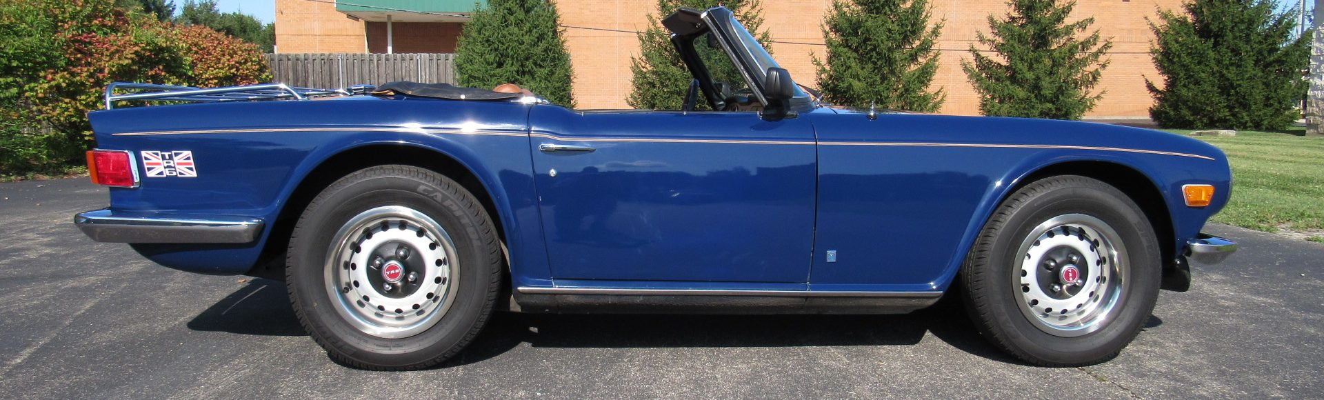 1974 TR6, Restored, 4 Speed, SOLD!