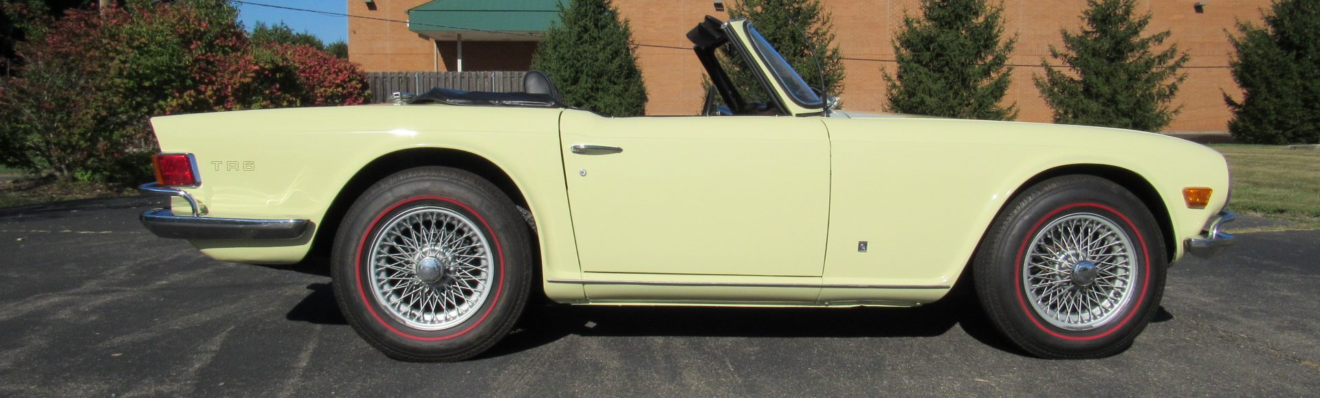 1971 Triumph TR6, Restored, 4 Speed, SOLD!
