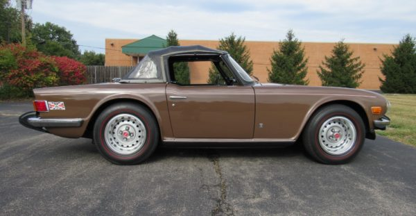 1975 Triumph TR6, LIVE AUCTION ON BRING A TRAILER.COM