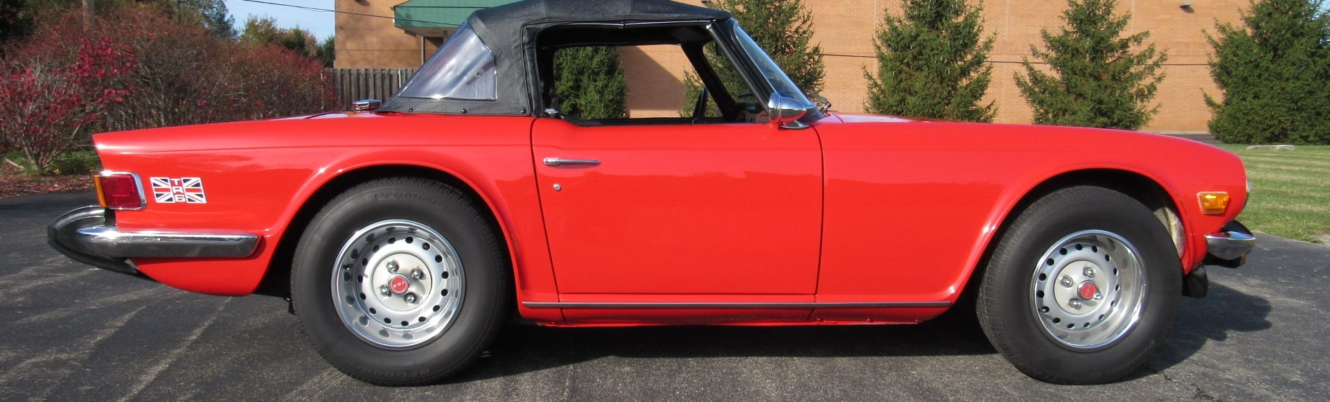 1975 Triumph TR6, Fully Restored, SOLD!