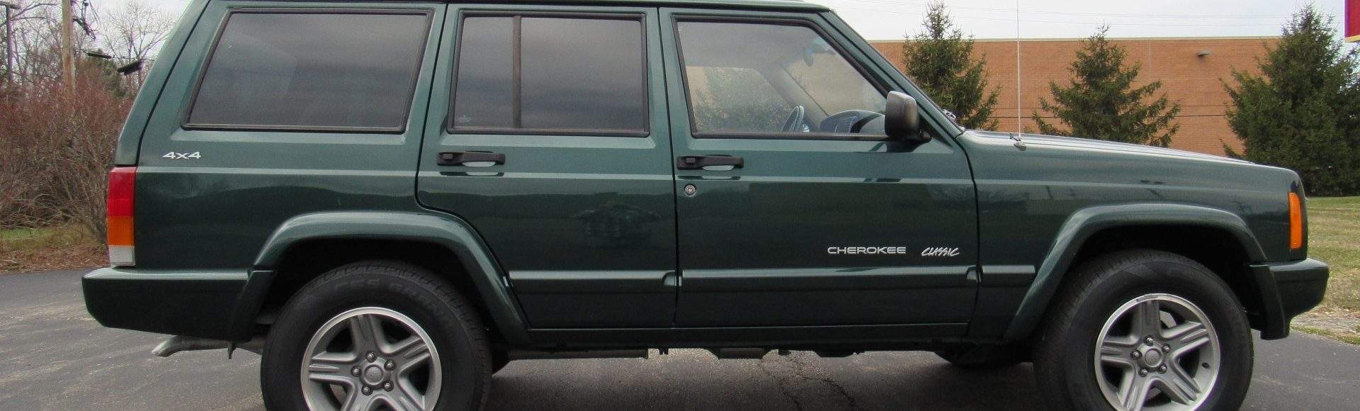 2000 Jeep Cherokee, 4WD, SOLD!