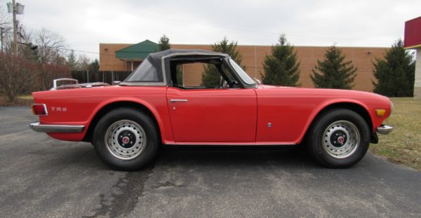 1972 TR6, Live Auction on Bring A Trailer.Com