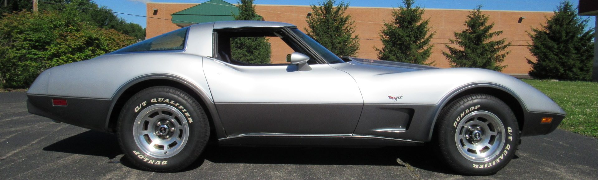 1978 Silver Anniversary Corvette, Blue Interior SOLD!