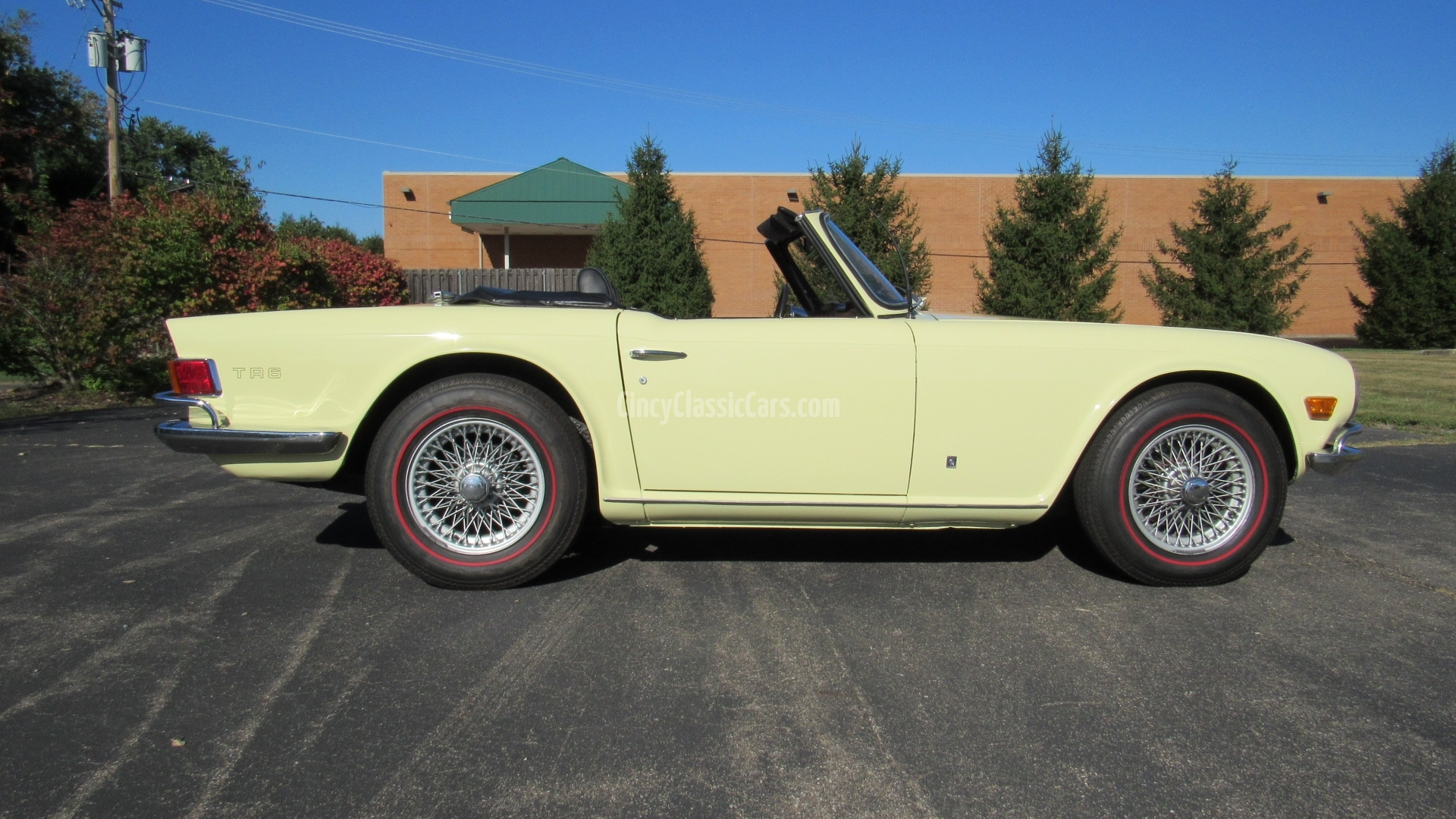 1971 Triumph TR6, Restored, 4 Speed, SOLD! | Cincy Classic Cars