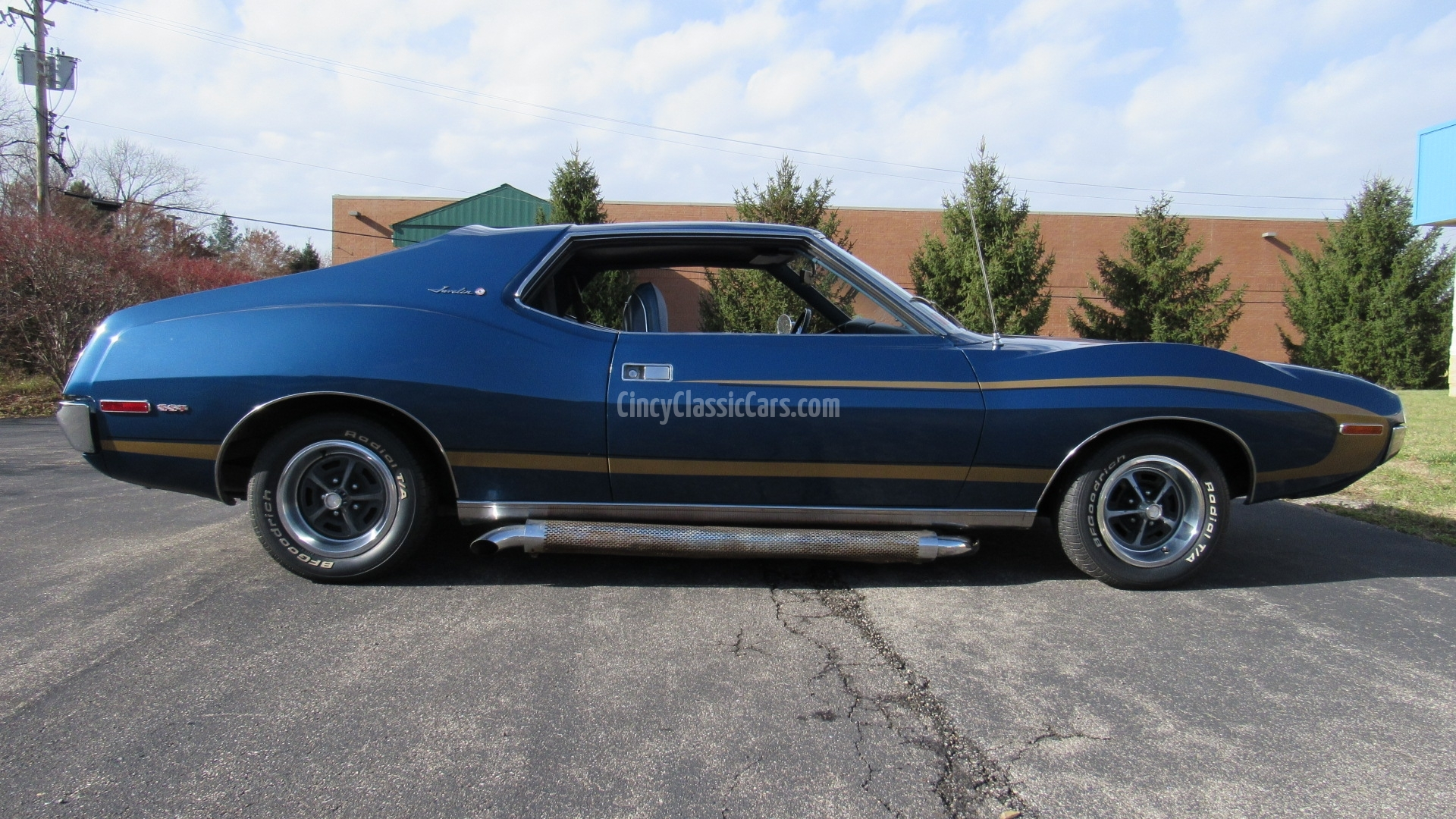 1972 AMC Javelin, 3 Speed, 304, SOLD! | Cincy Classic Cars
