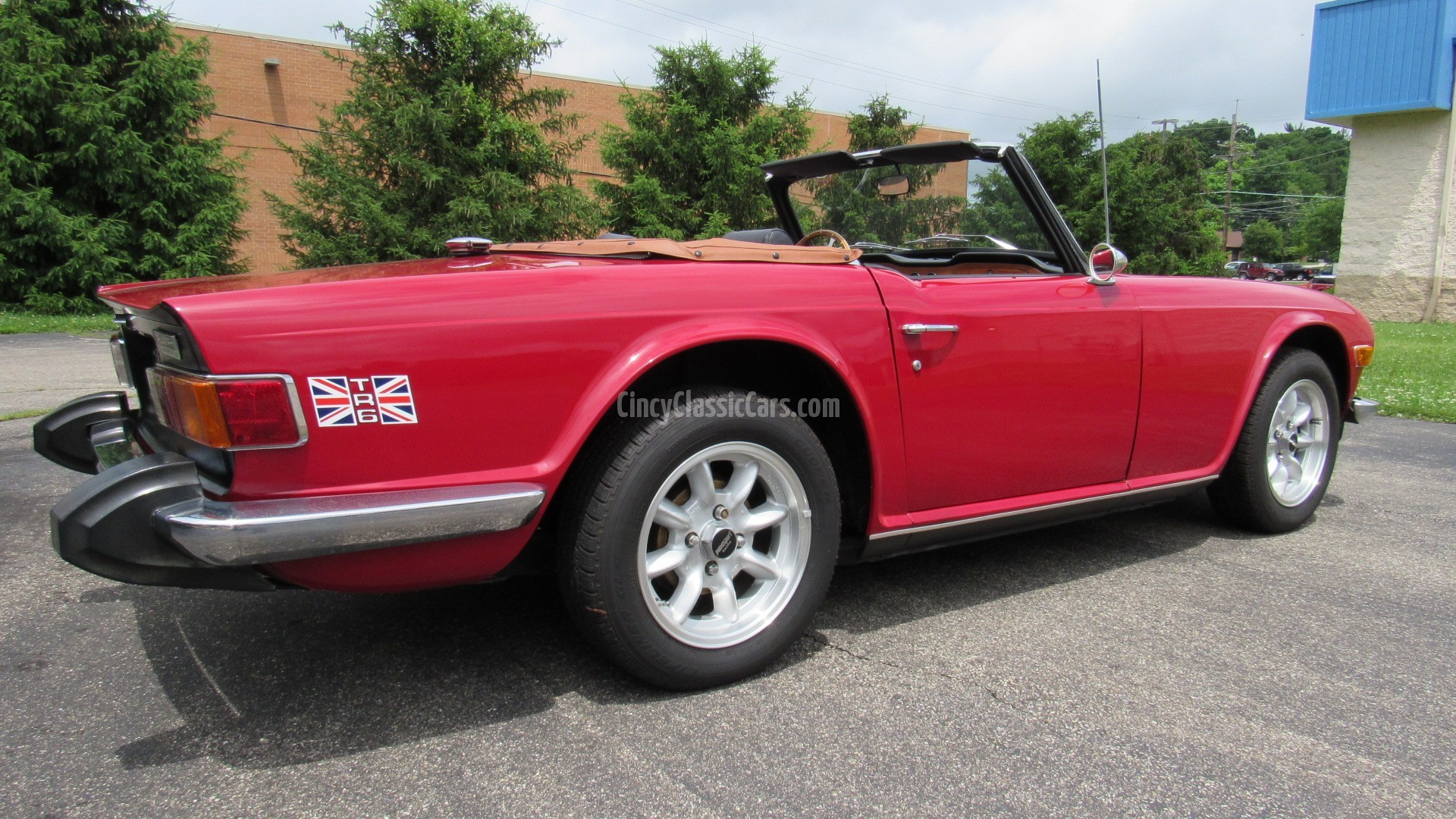 1973 TR6, Overdrive, Hardtop, SOLD! | Cincy Classic Cars