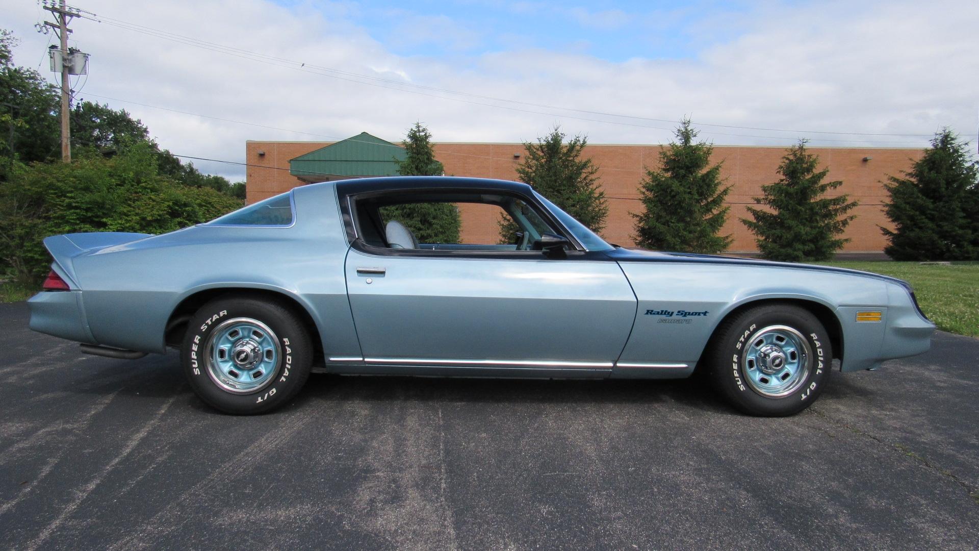 Vehicle Specs By Vin >> 1978 Camaro RS, 4 Speed, 350, 32K Miles SOLD! | Cincy ...
